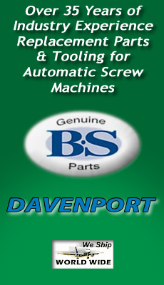 Davenport Replacement Parts